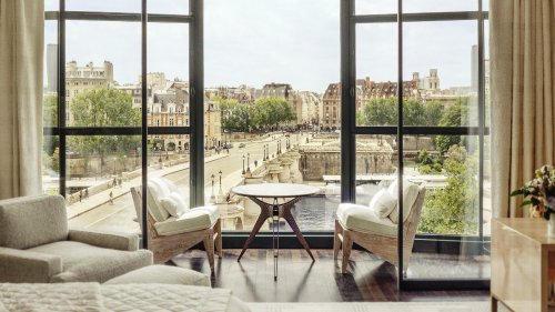 A look inside the Cheval Blanc Paris – The LVMH owned hotel has the world's first Dior Spa, Michelin star dining, stellar views of the River Seine, and a standard room starts from $1,300.
