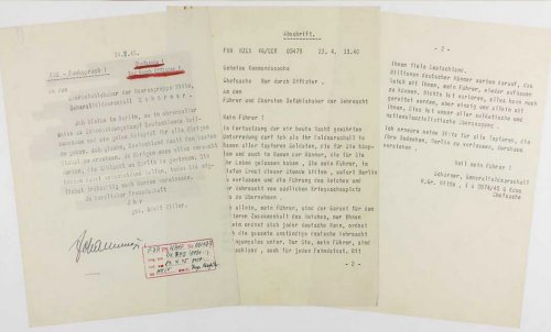 Hitler's suicide note is up for auction and is likely to fetch $80,000 : Luxurylaunches
