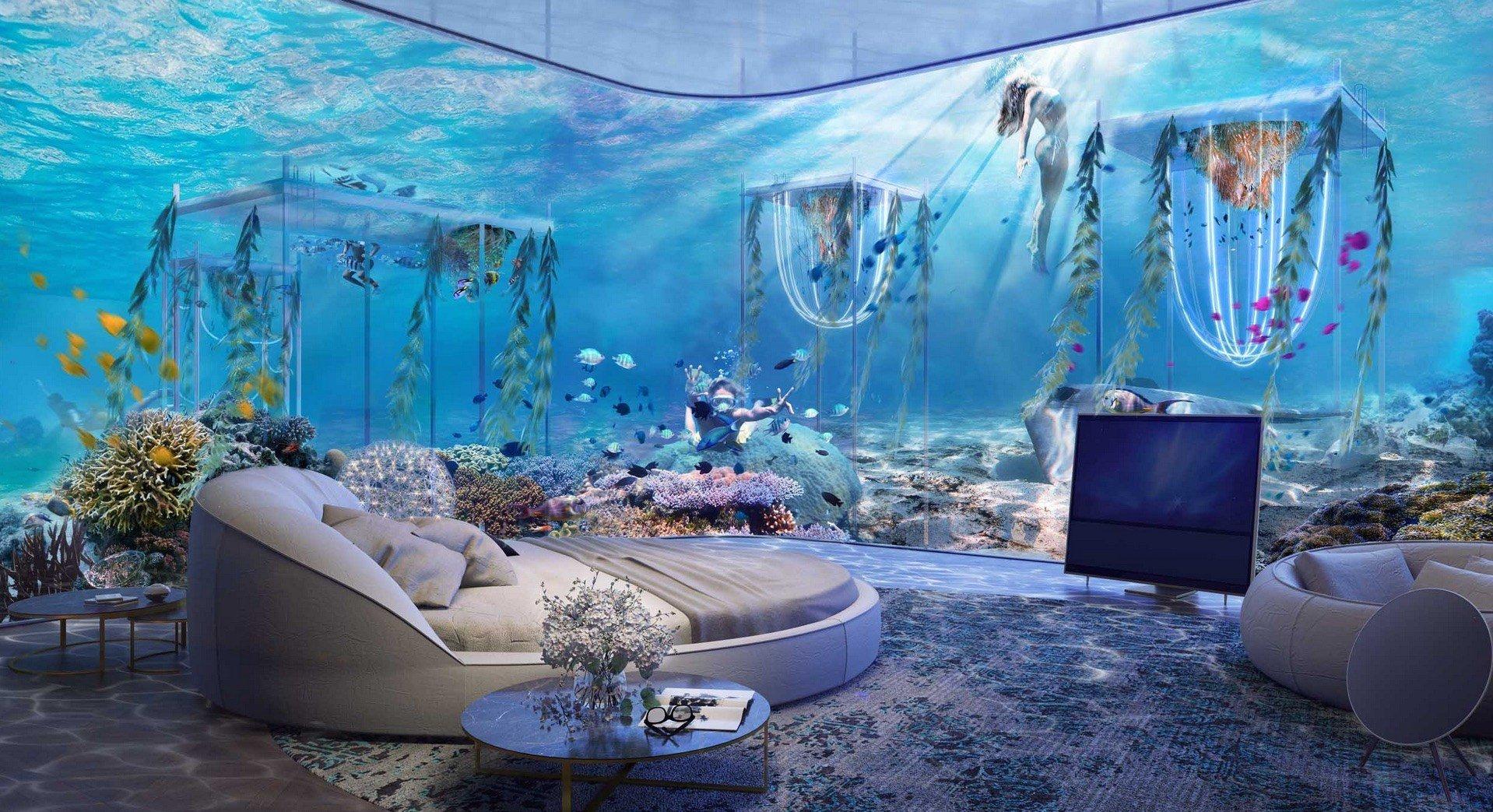 The World's First Underwater Luxury Vessel Resort will open in Dubai
