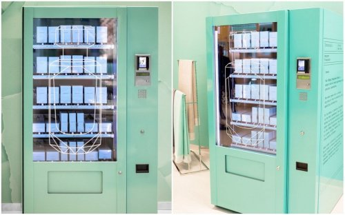 Could this be the worlds most decadent vending machine? (Hint – It's from Tiffany's)
