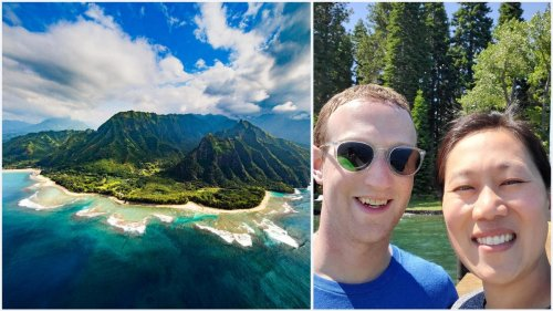 Inspite of a million people petioning for a ban on his colonization of the gorgeous island in Hawaii. Mark Zuckerberg now owns beachfront land the size of two Central Parks in Kauai.