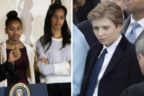 No social media and very limited Christmas decorations. For the President's kids living at the White House is a bit too restrictive. Secret Service won't even let them open a window for fresh air.
