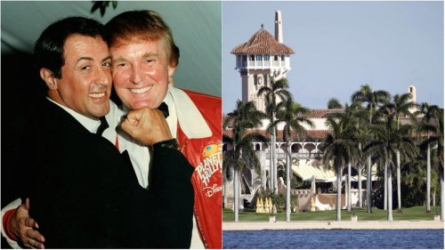 After buying a $35 million mansion in Palm beach, Sylvester Stallone has paid $200,000 to join Donald's Trump's ultra-exclusive Mar-a-Lago club