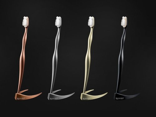 The world's most expensive toothbrush is made from titanium and costs $4,375 : Luxurylaunches