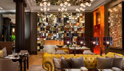 Witness a stunning afternoon tea experience with Rosewood London that is inspired by Yayoi Kusama's Infinity Rooms