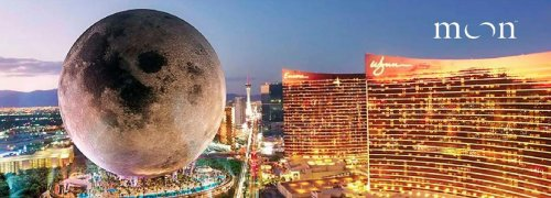 750 feet tall and wider than a football field – Las Vegas may soon get a $5 billion mega-scale replica of the moon that will house a luxury hotel, concert hall, casino, and a lot more.