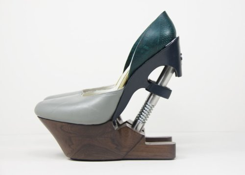 Designers high heels with shock absorbers promise comfort and less back pain : Luxurylaunches