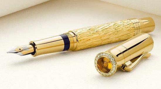 Graf von Faber-Castell's Diamond studded fountain pen - Luxurylaunches