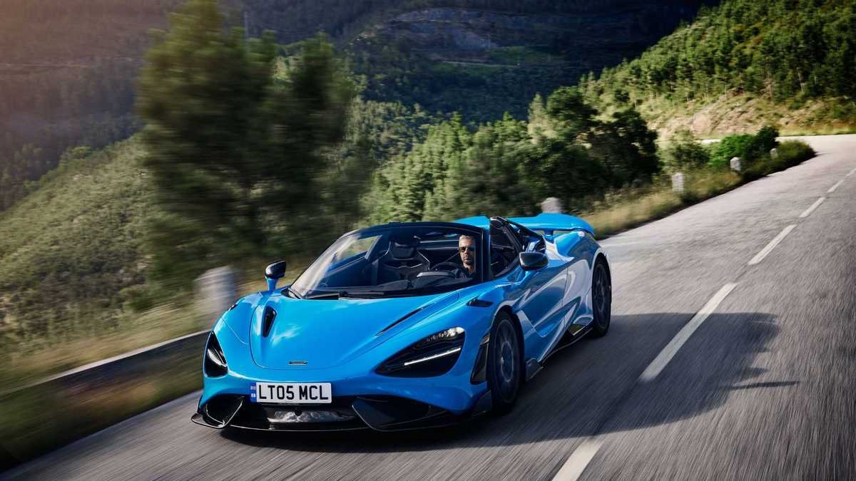 McLaren 765LT Spider is the most powerful convertible ever made by the British supercar manufacturer