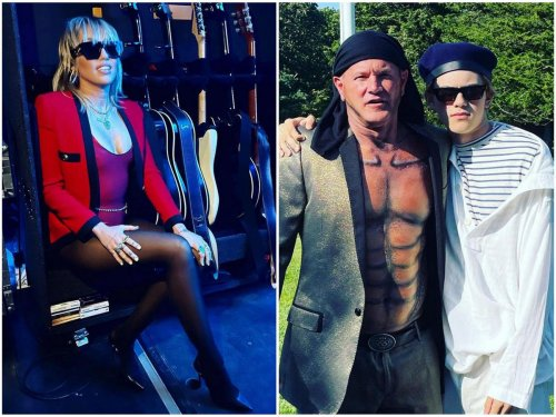 Crypto billionaire Mike Novogratz hired Miley Cyrus for a rocking private performance at his carnival styled bash in the Hamptons
