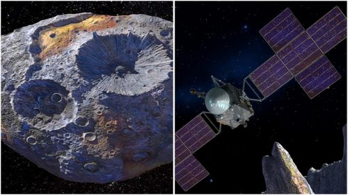 This asteroid is packed with so much precious metal that it can make every single person on the earth a billionaire and now NASA is sending a spacecraft to study it