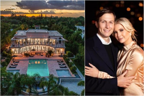 Their second property in Florida – Ivanka Trump and Jared Kushner have purchased a $24 million six-bedroom French-styled mansion in Miami's ultra exclusive 'Billionaire bunker'.