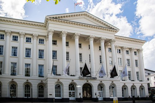 Hotel Review: Queens Hotel, Cheltenham in Gloucestershire