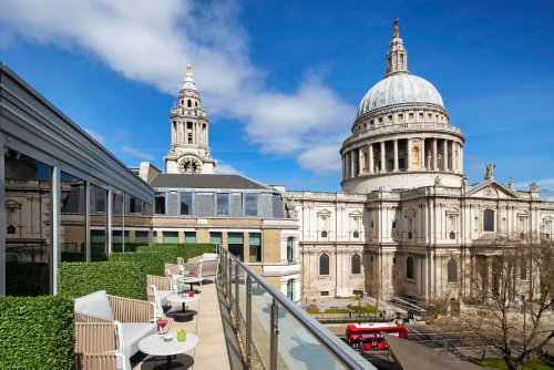 Bar Review: Sabine Rooftop Bar, St Paul's in London