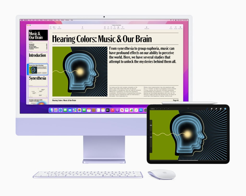 The Hit of WWDC2021 is the combo of AirPlay to Mac and Universal Control