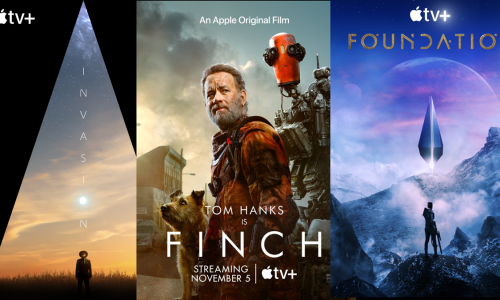 Apple TV+ kicks it off Dystopian Style w/ Tom Hanks in 'Finch', 'Invasion' and 'Foundation'