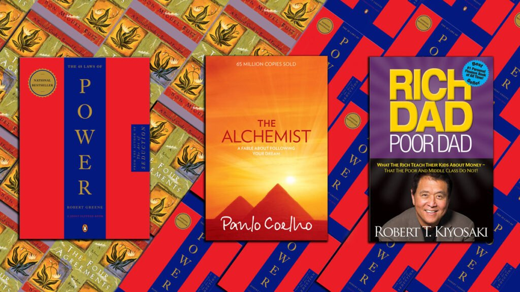 Books in the Top 100 for Decades: Power, The Alchemist, Rich Dad Poor Dad, The Four Agreements