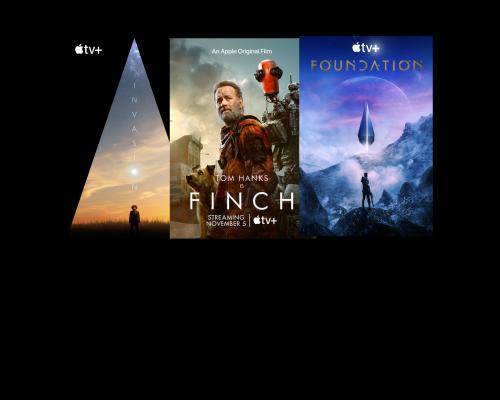 Apple TV+ Dystopian Fest w/ Tom Hanks in 'Finch', + 'Invasion' &  'Foundation'