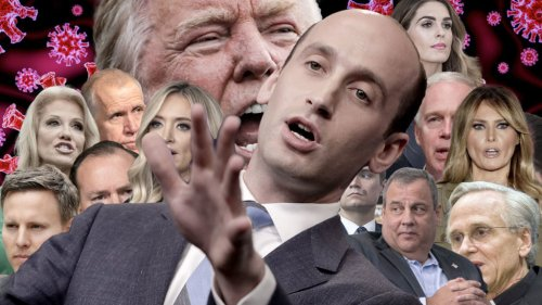 Yet another White House aid: Stephen Miller tested covid-19 positive