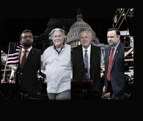 Jan 6th Committee Subpoenas Individuals tied to Trump