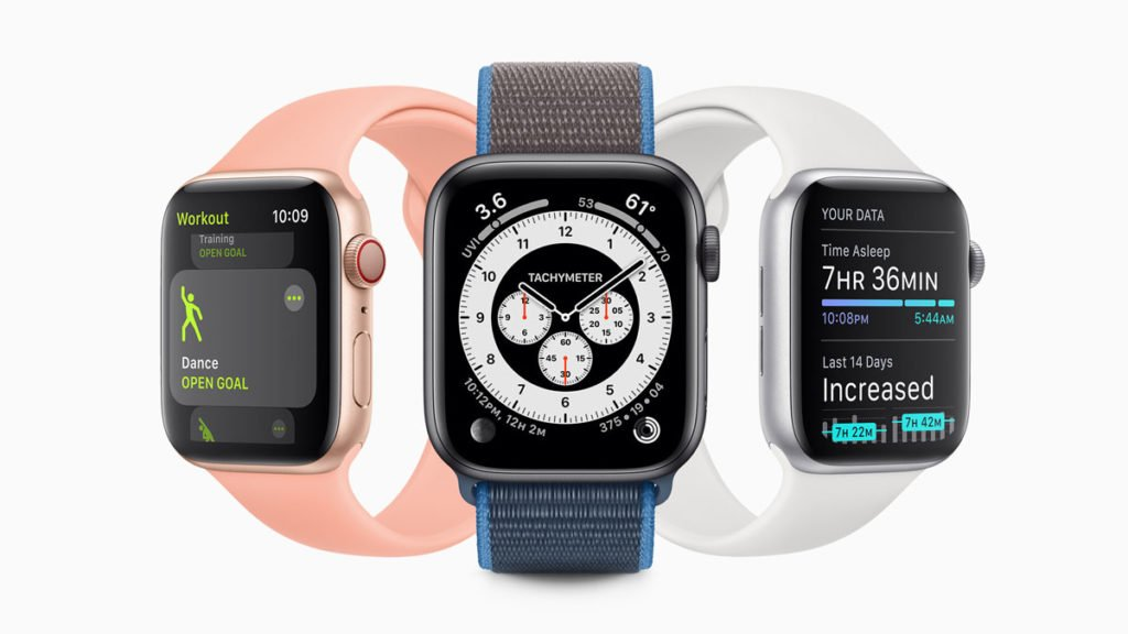 """Tons of Changes in Apple WatchOS 7: """"Dance"""" in Re-named Fitness App at top of list"""