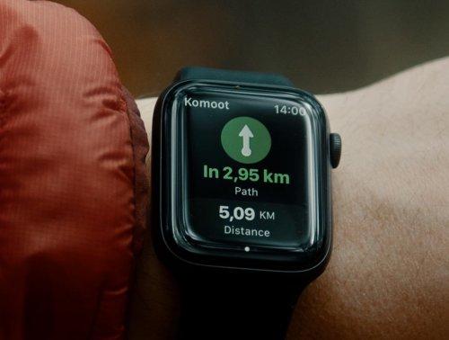 komoot: Apple Watch App erhält großes Update