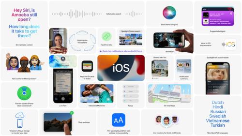 """iOS 15, iPadOS 15 und macOS Monterey: Apple veröffentlicht deutsche """"Features""""-Webseiten"""