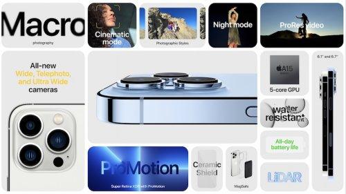 Video demonstriert eindrucksvoll das 120Hz ProMotion Display beim iPhone 13 Pro