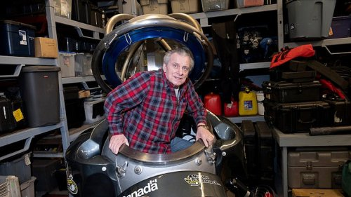 The prolific Canadian inventor behind the 'Ironsuit'