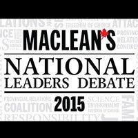 Maclean's National Leaders Debate: Watch and Engage