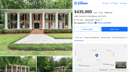 Are you looking for a house? Here are the newest real estate listings in Macon