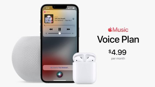 Apple Music Gaining New 'Voice Plan' for $4.99/Month