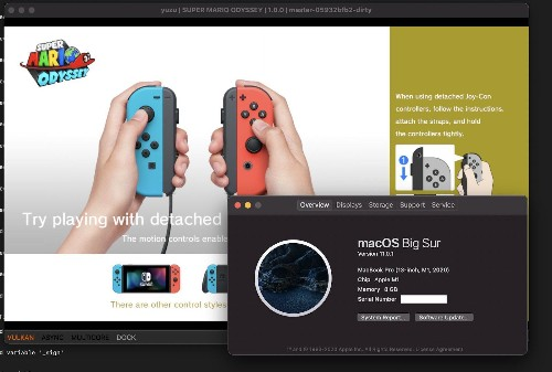 Developer Successfully Emulates Nintendo Switch Games on M1 Mac