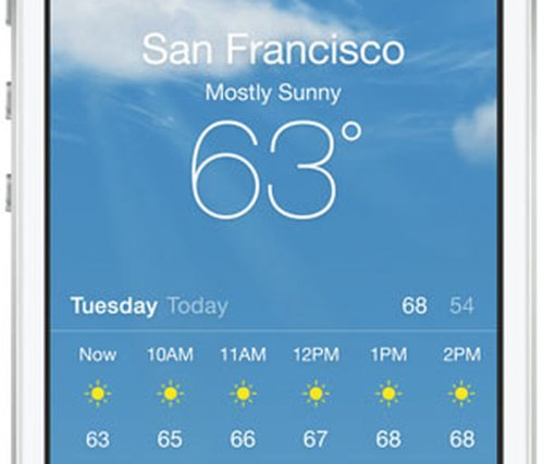 iPhone 6 May Include Temperature, Pressure and Humidity Sensors