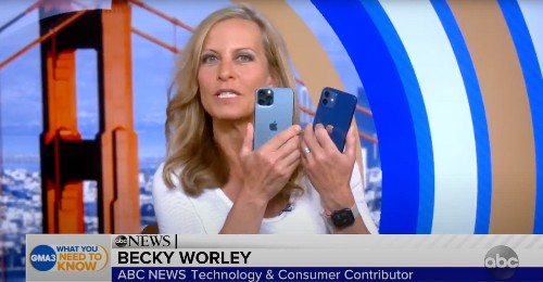 'Good Morning America' Offers First Hands-on With iPhone 12