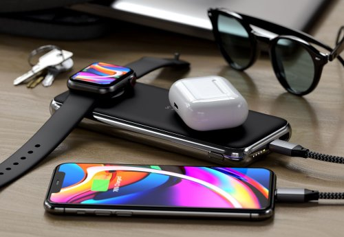Satechi Launches Quatro Wireless Power Bank For Charging iPhone, AirPods and Apple Watch