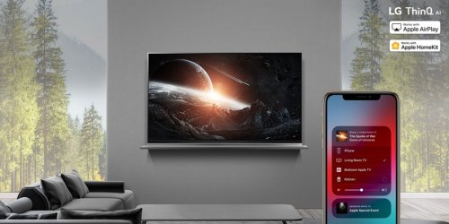 LG Renews Pledge to Bring AirPlay 2 and HomeKit Support to Select 2018 TV Models