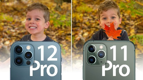 Camera Comparison: iPhone 12 Pro vs. iPhone 11 Pro