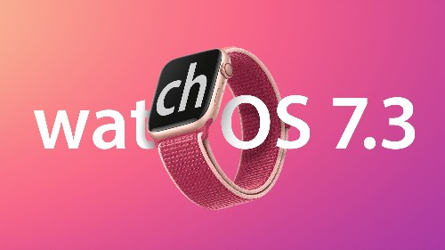 Apple Releases watchOS 7.3 With Unity Watch Face, Expanded ECG Availability and More
