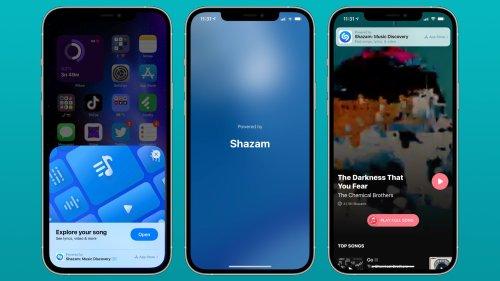 iOS 14.6 RC Introduces New Shazam App Clip