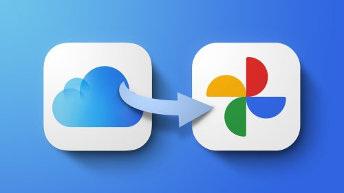 Apple Launches Service for Transferring iCloud Photos and Videos to Google Photos