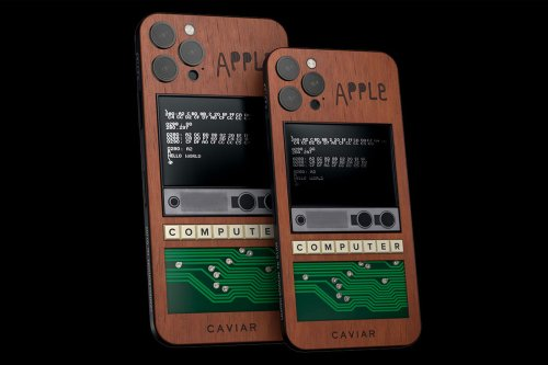 Original Apple I Piece Used in Caviar's $10,000 Limited-Edition iPhone 12 Pro [Update: Disputed]
