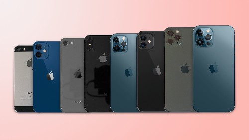 iPhone 12, Mini, and Max Size Comparison: All iPhone Models Side by Side