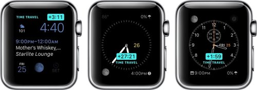 How to Use Time Travel on Apple Watch in watchOS 2