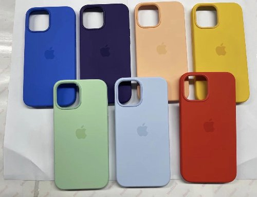 Leaked Photos Show Additional Spring Colors for iPhone 12 Cases