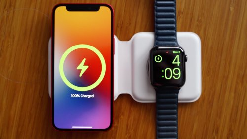 Hands-On With Apple's New MagSafe Duo Charger for iPhone 12 and Apple Watch