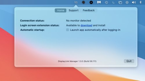 DisplayLink Manager Updated With Native Support for M1 Macs and More
