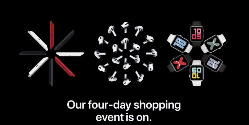 Apple's Shopping Event Underway: Up to $150 Gift Card With Select Products