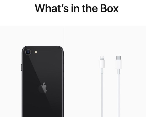 iPhone 11, XR, and SE No Longer Come With EarPods and Power Adapter But USB-C to Lightning Cable Included