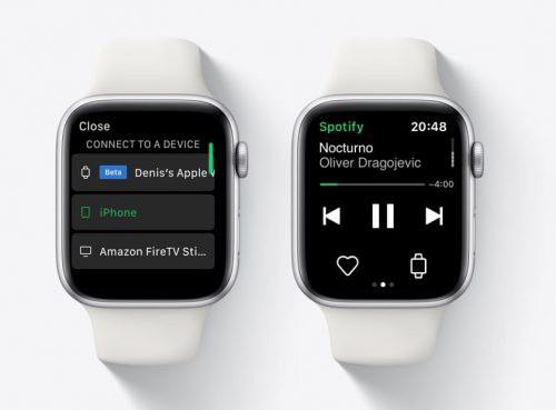 Spotify Tests Untethered Apple Watch Streaming for Some Users